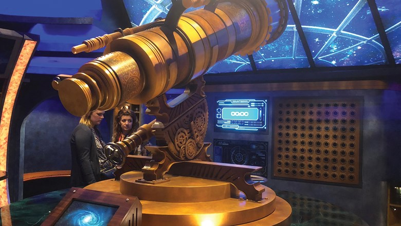 The Observatorium escape room has taken the place of the chapel on Royal Caribbean's Independence of the Seas.