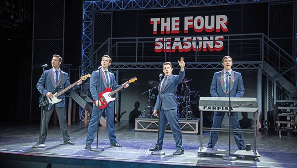 "According to Norwegian, the ""Jersey Boys"" show's creators were closely involved with trimming the production to a cruise-friendly 90 minutes."