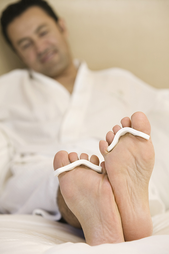 Pebble Beach Resorts offers foot pampering for dads, including a sports pedicure and a foot and lower leg massage.