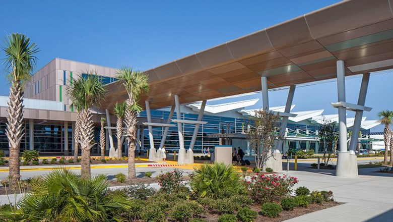 Myrtle Beach International Airport had seat growth of 53% between April 2017 and April 2018.