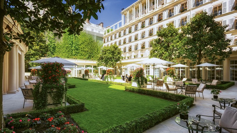 The cat's meow: Haute couture hostelry at Le Bristol Paris