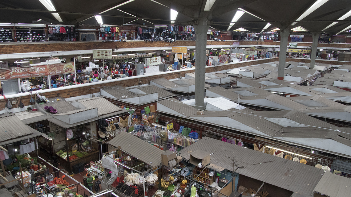 The Mercado Libertad, also known as San Juan de Dios Market, is the largest indoor market in Latin America.
