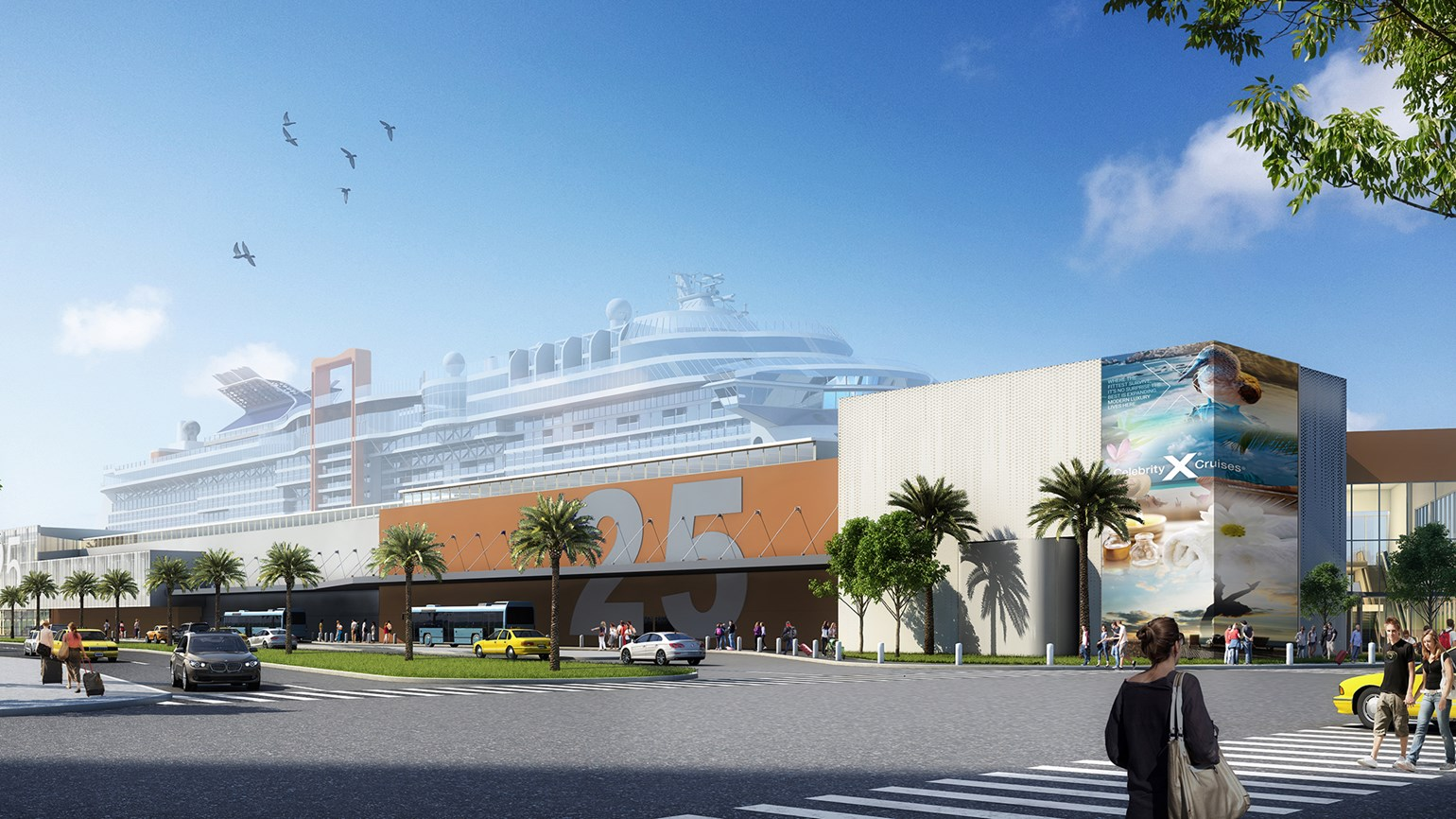 Celebrity Cruises redesigning Fort Lauderdale terminal
