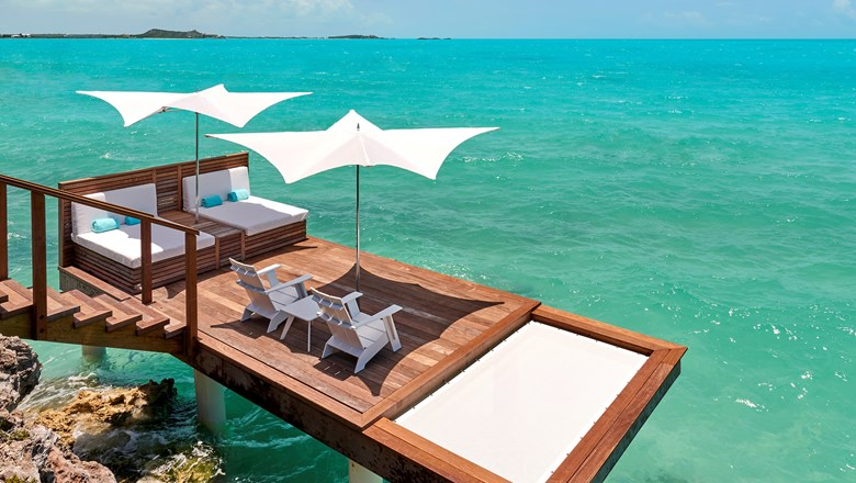 The first five of seven luxury villas opened at Gansevoort Turks & Caicos.