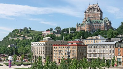 History and old-world charm in Quebec City