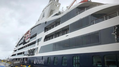 Le Laperouse marks start of Ponant's growth