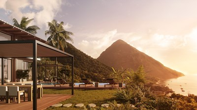 St. Lucia's Sugar Beach resort to build Piton Residences