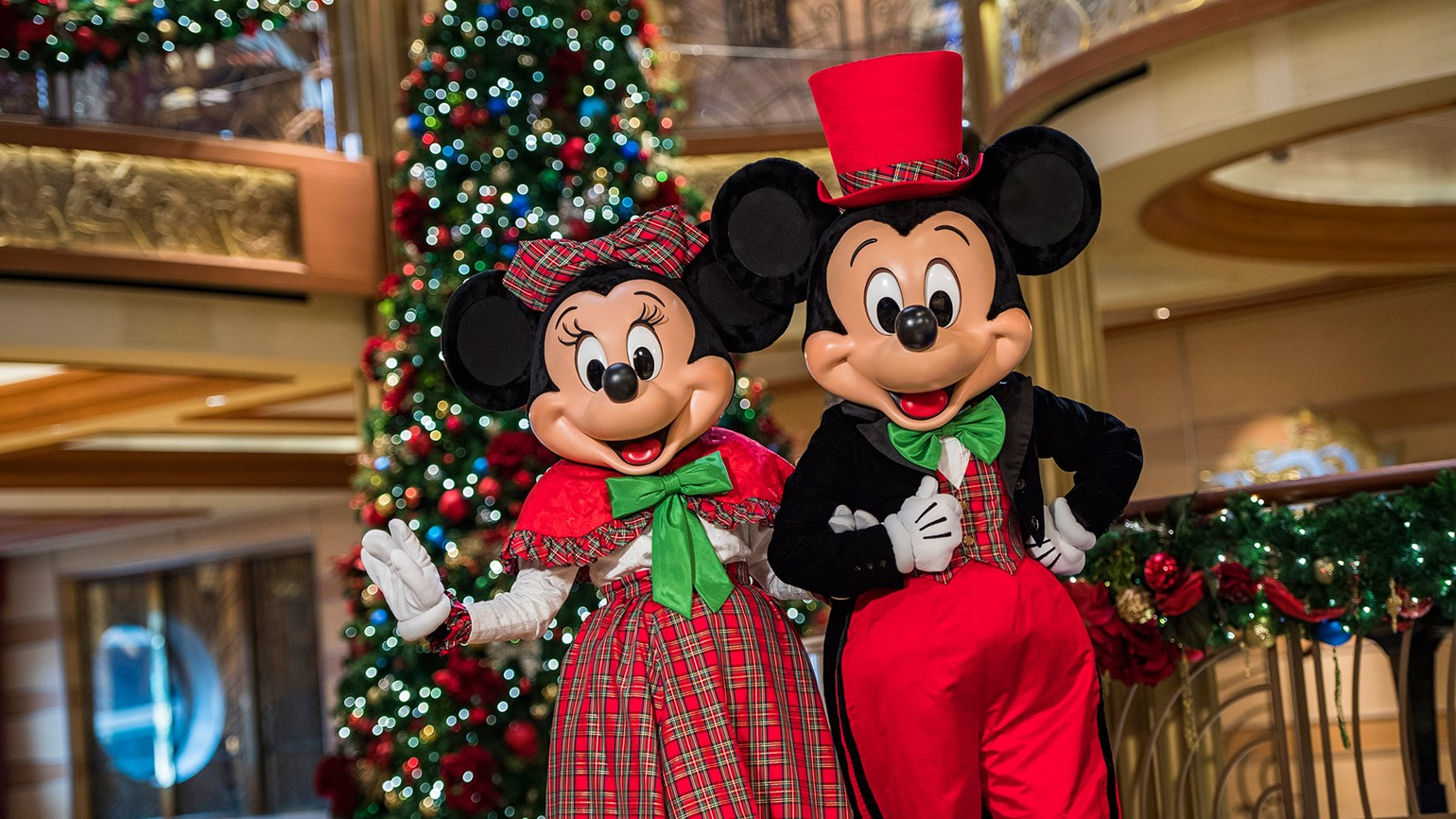 Disney Cruise Line schedules Christmas activities