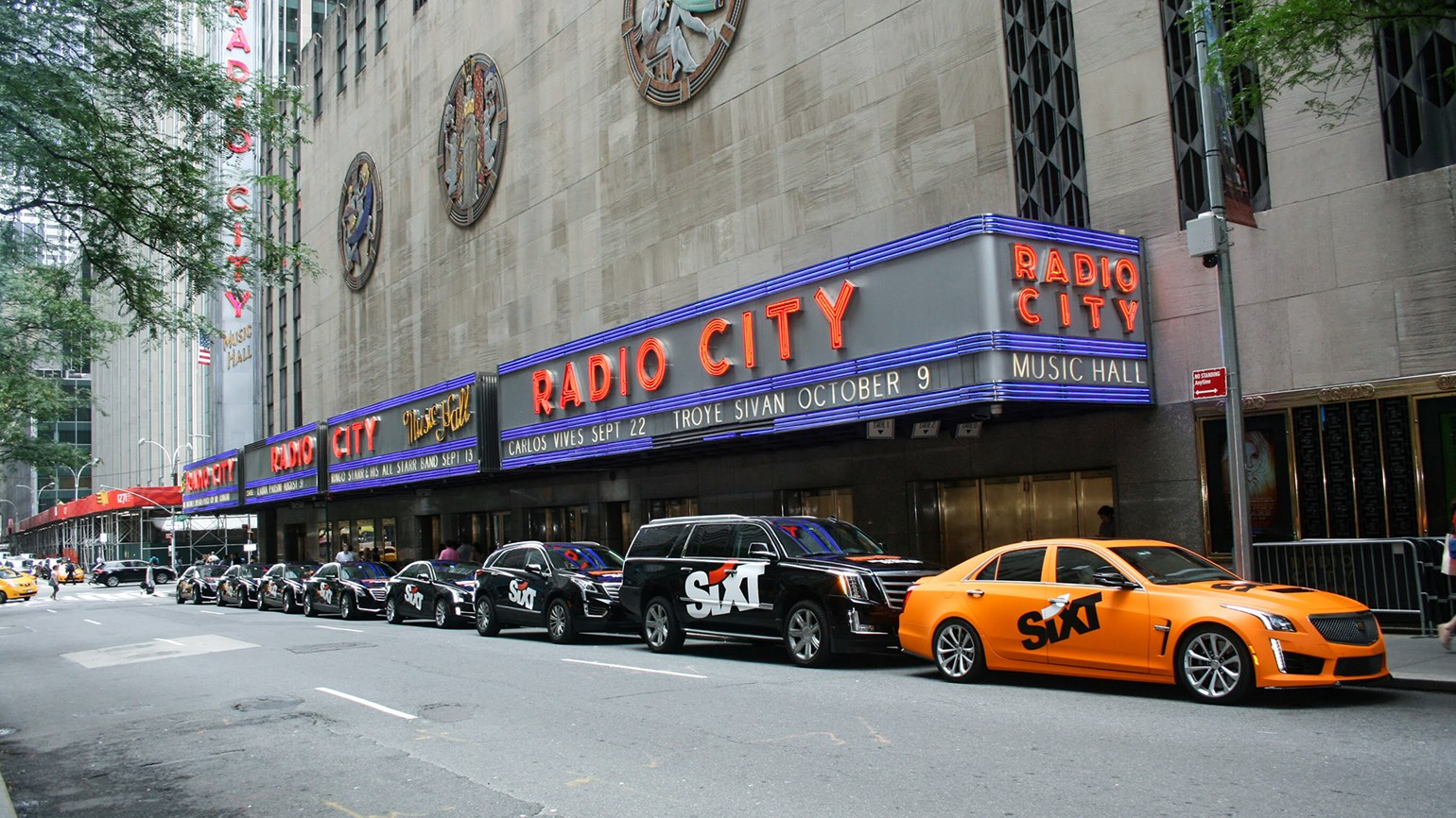 sixt focuses on luxury rentals and top service in u.s