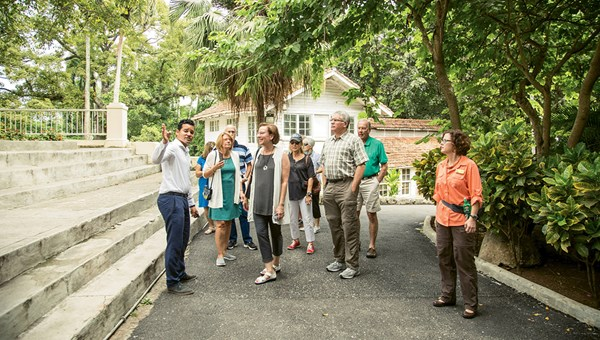 An Abercrombie & Kent tour of Finca Vigia, Ernest Hemingway's home in Havana.