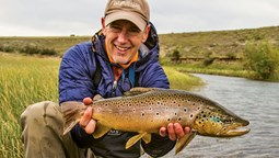 Agency's success with fly-fishing niche lures investor