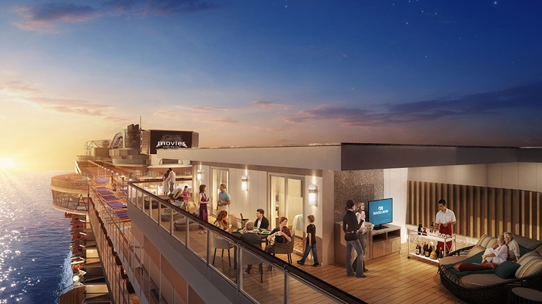 Sky Princess to have Princess Cruises' largest balconies