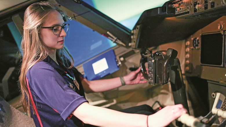 Big 3 airlines take on shortage of pilots with career-path help