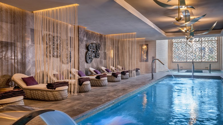 Facilities at the Hyatt Zilara Cancun's Zen Spa include a hydrotherapy circuit.