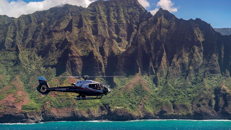 Maverick Helicopters, which has operated on Maui for three years, recently opened a branch on Kauai.