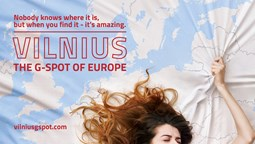 Lithuania's capital puts risque humor in tourism campaign