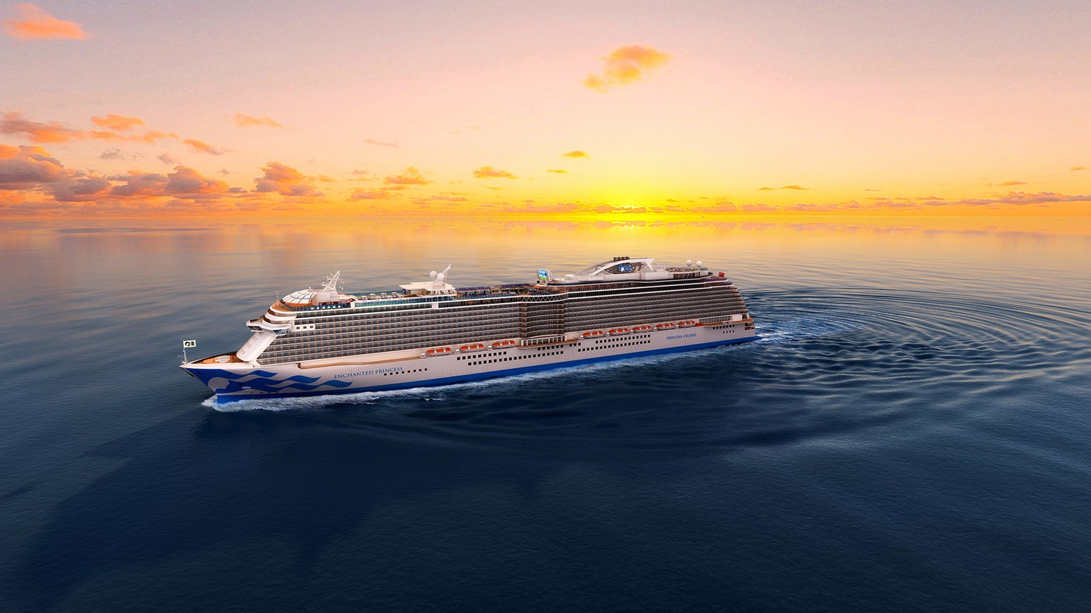 Princess names 2020 ship Enchanted Princess