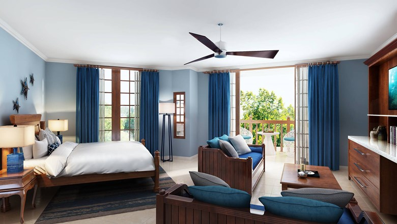 Beaches Negril unveiled nine new family-friendly rooms and suites.
