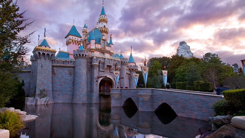 Sleeping Beauty Castle at Disneyland. California theme parks have been given the green light to reopen on April 1.