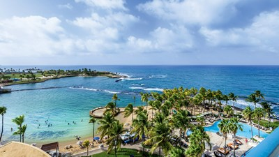 In San Juan, Caribe Hilton readies for winter reopening