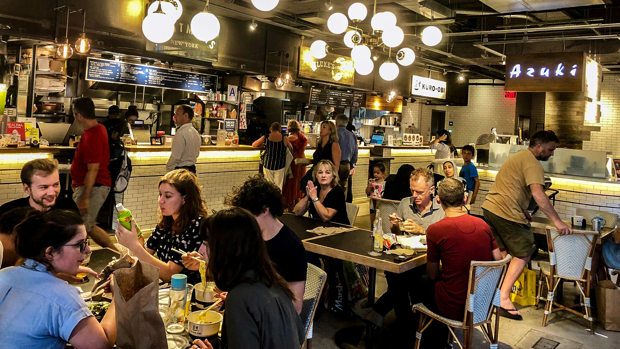 Hotels Starting To Join Food Hall Trend Travel Weekly