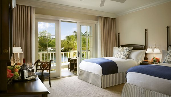 A double queen suite at the Montage Palmetto Bluff, which has 200 guestrooms in addition to residences that can be rented out by Montage on behalf of owners.