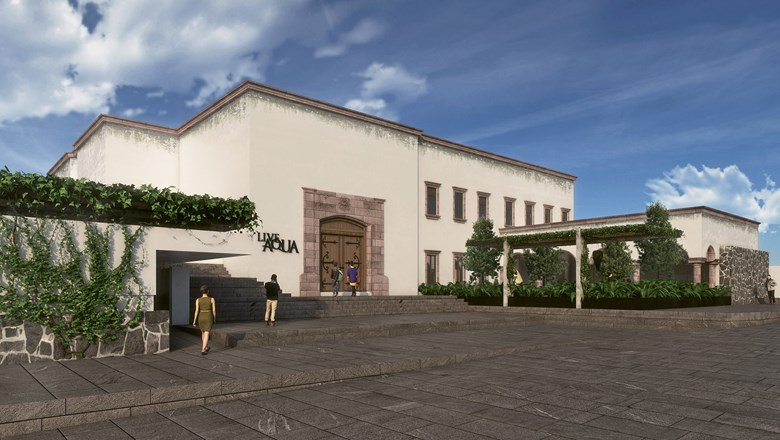 A rendering from the 153-room Aqua Live San Miguel de Allende, the newest Posadas property, scheduled to open Nov. 1.