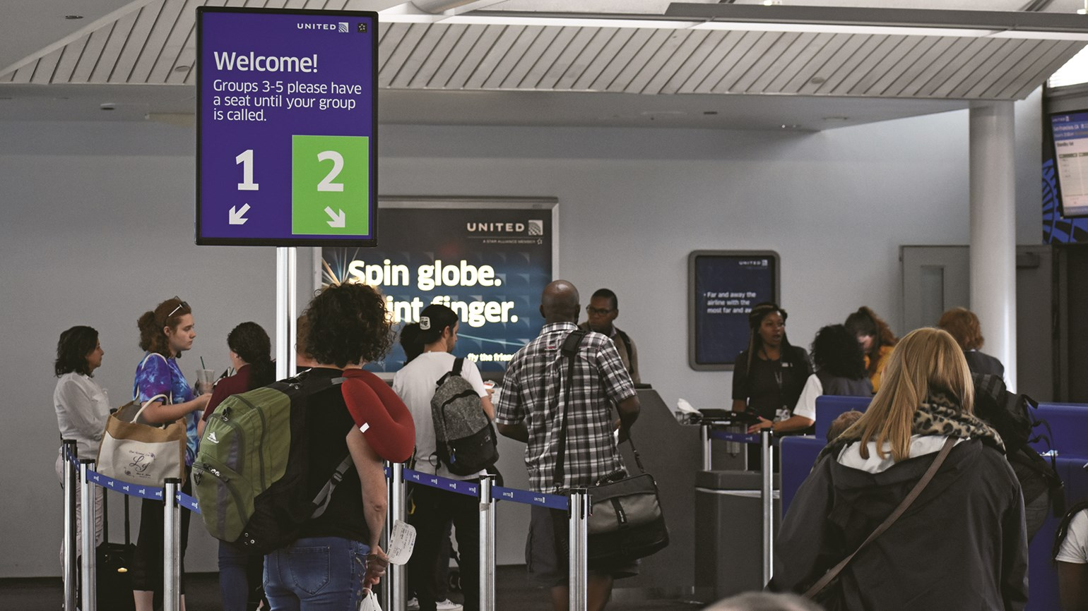 United implements new boarding procedure