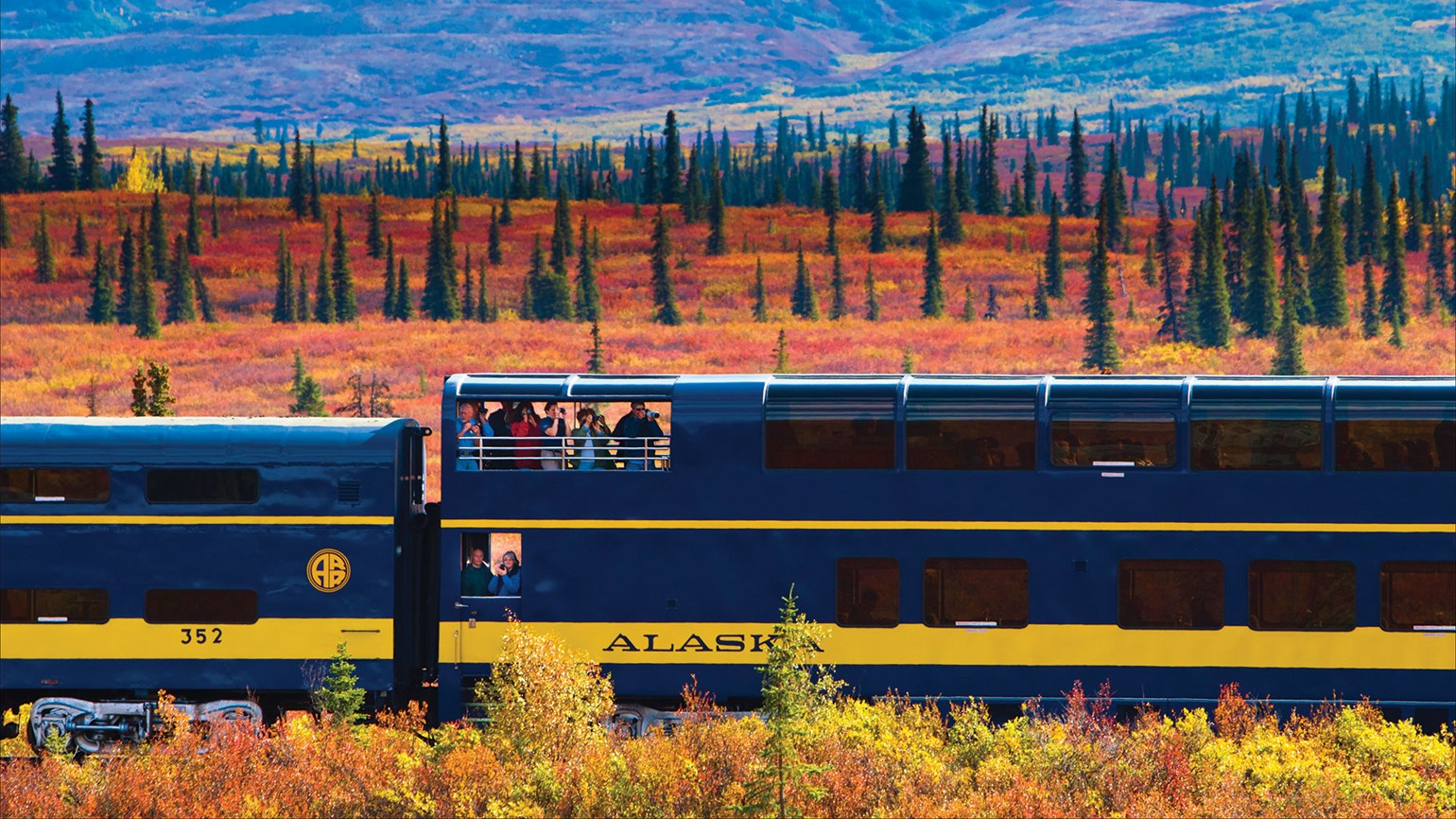 Alaska Railroad takes booking for fall event trains