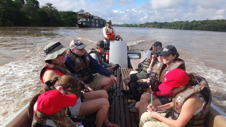 Jungle Experiences' kid-friendly sailings ply the Amazon in Peru.