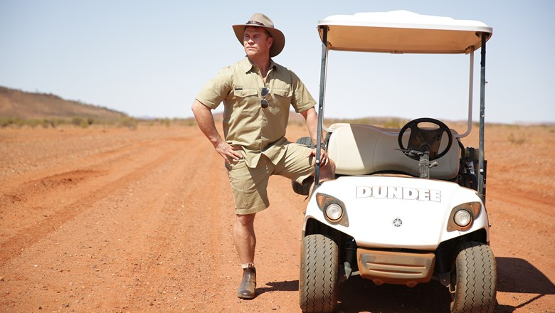 Actor Luke Hemsworth stars in the second phase of Tourism Australia's Dundee campaign.