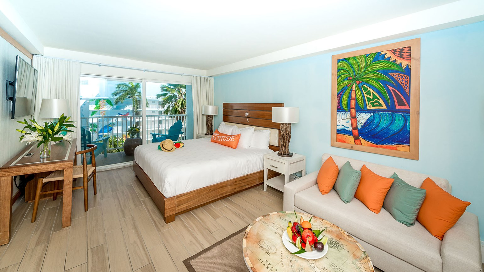 Where the Grand Cayman Margaritaville is flexing its muscle