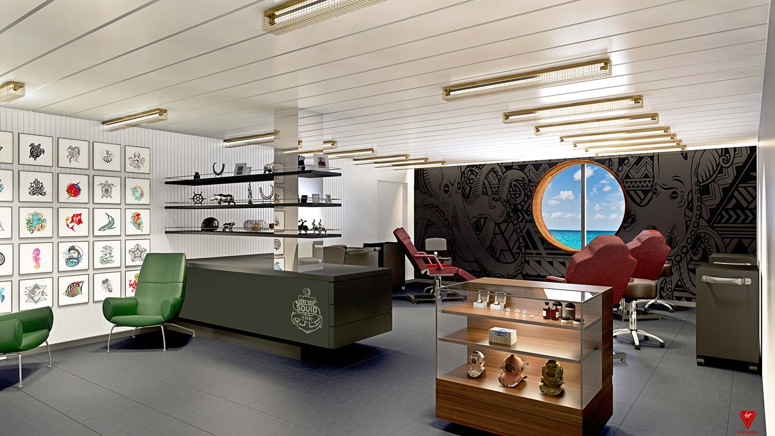 Inked at sea: Virgin Voyages ship will have tattoo parlor