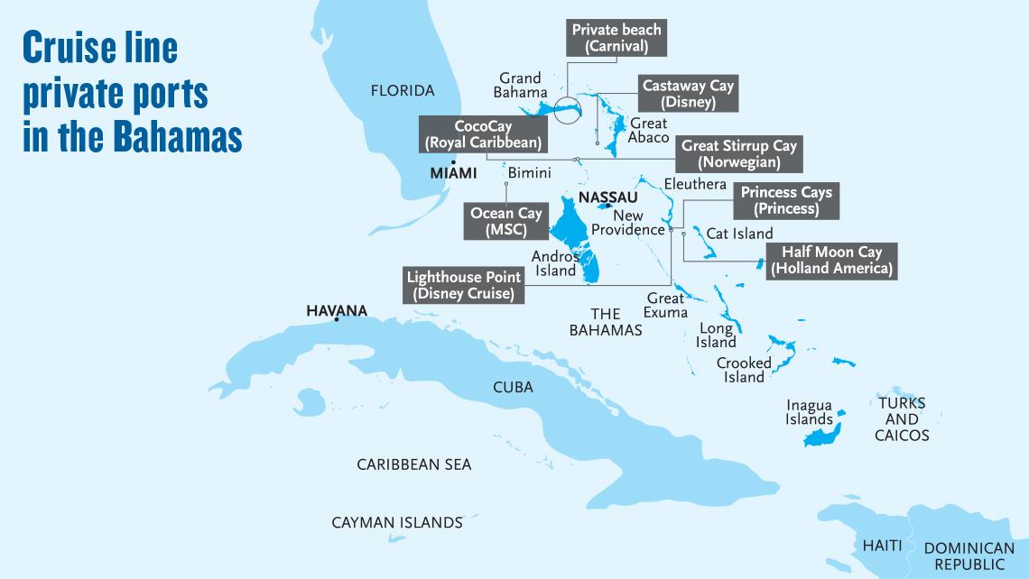 Conservation plan helped Disney land second Bahamian port