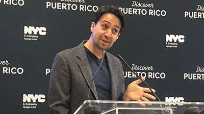 Tourism companies partner on 'Hamilton' production in Puerto Rico