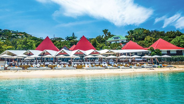 The Nikki Beach Saint Barth, which turned 20 this year, reopened last month.