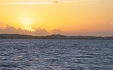 Scene from a sunset cruise with Sweet Seas TCI.