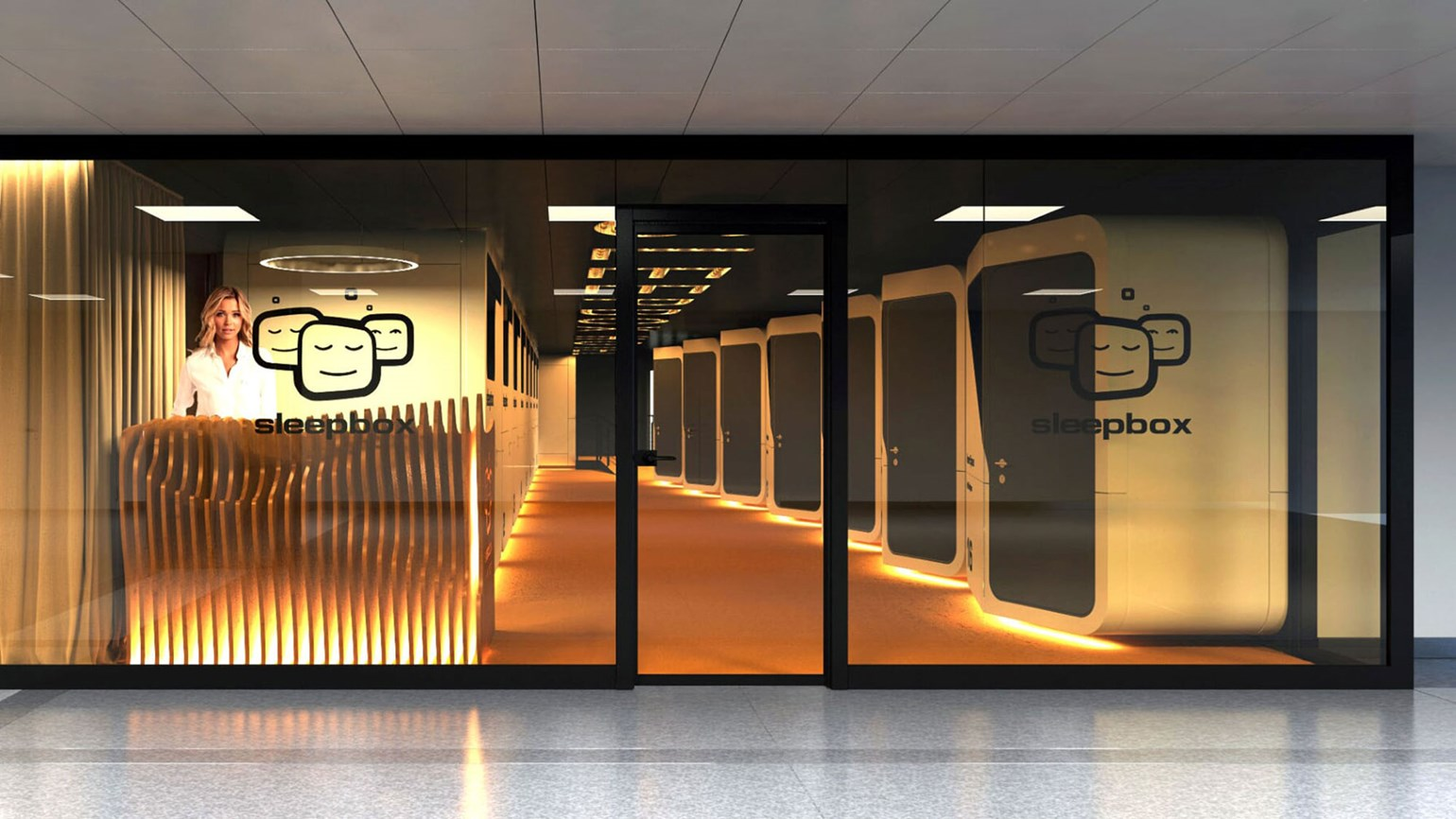Startup firm Sleepbox opening pod hotel at Washington Dulles
