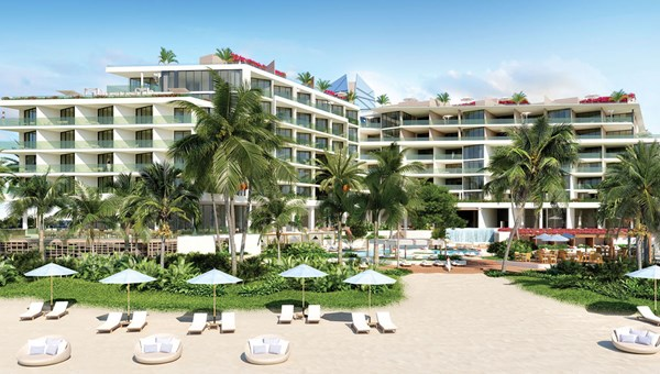 A rendering of the Andaz Turks & Caicos Residences, scheduled to open in 2021.