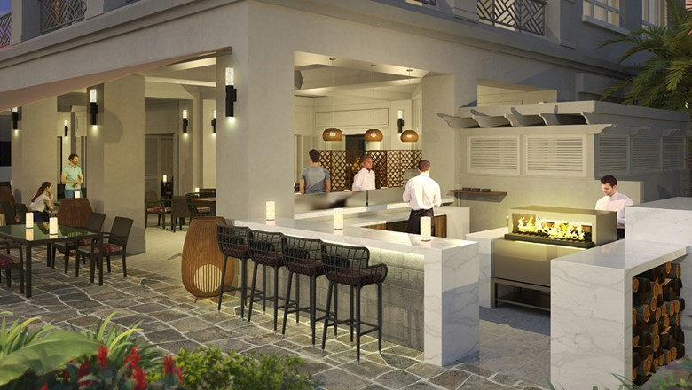 Binchotan, a new restaurant focused on robatayaki-style grilling, is coming to the Fairmont Orchid at the close of 2018.