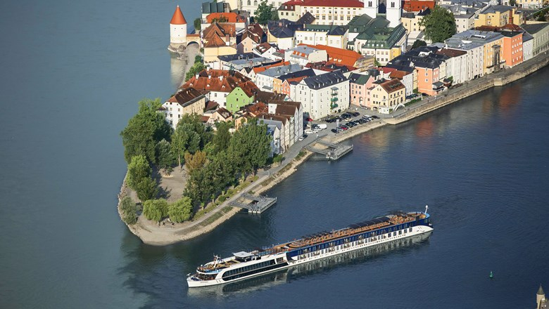 AmaWaterways' seven-night Melodies of the Danube itinerary includes a stop in Passau, Germany.