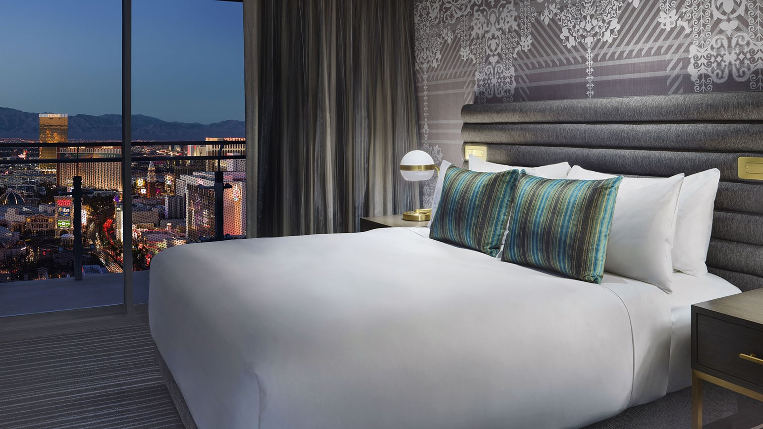 New from the Cosmopolitan: fresh rooms, free parking, a private jet