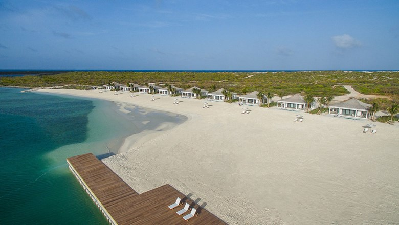 Ambergris Cay, a private island resort in Turks and Caicos, opened in December.