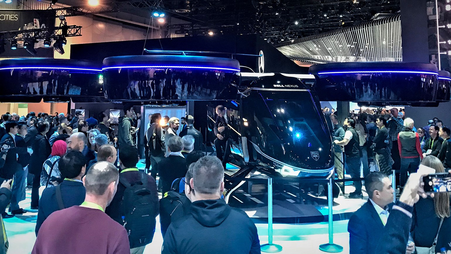 The Future, Part 1: At CES, Uber's plans for an air taxi unfold