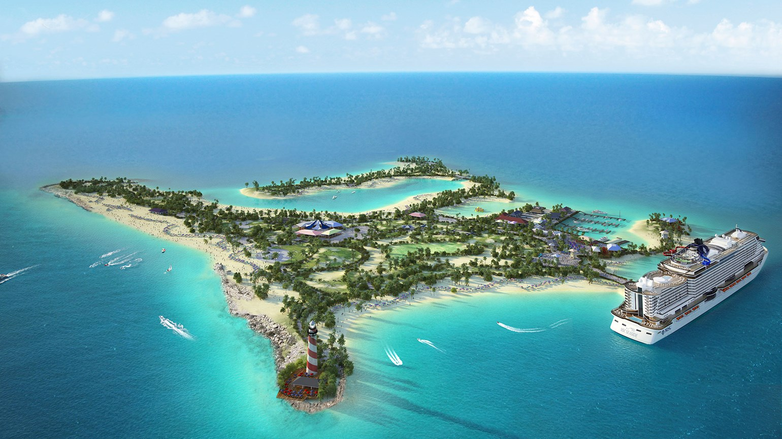 MSC pushes back private island debut until December