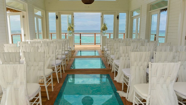 Sandals Debuts Third Overwater Chapel At Ochi Beach