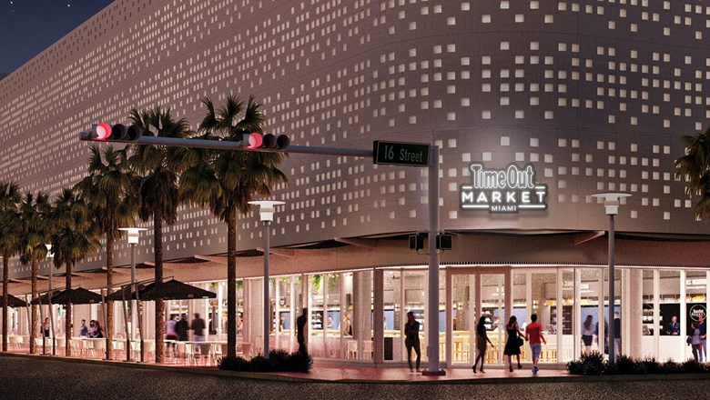 The Time Out Market Miami, seen here in a rendering, will be located in the heart of Miami Beach.