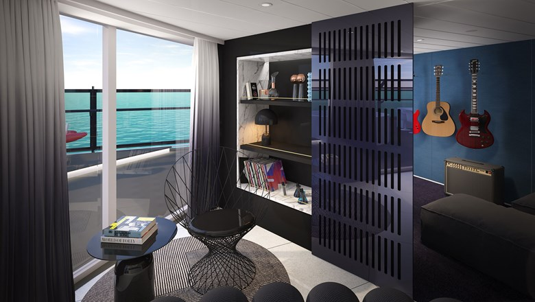 . Virgin Voyages unveils suite designs for first ship  Travel Weekly