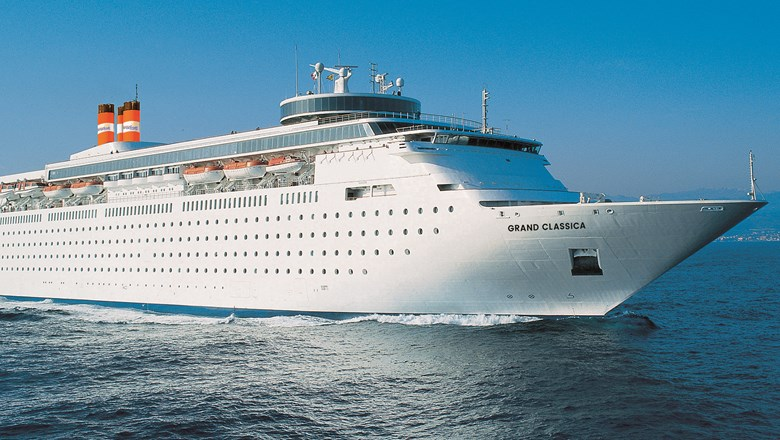 Bahama Paradise Cruises' Grand Classica, which will be used for a Cuba cruise.