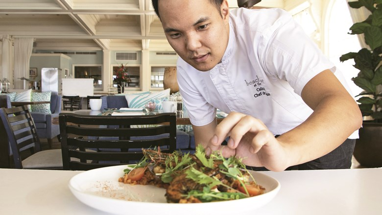 Learn to cook from a master at Moana Surfrider: Travel Weekly